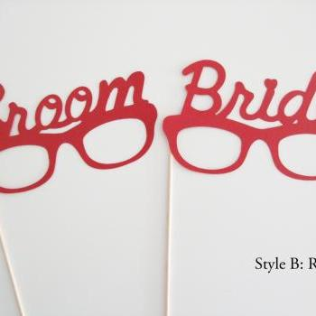 Bride & Groom Photo Prop (Style B)