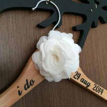 I Do Wedding Hanger // Bridal Hanger